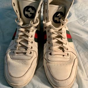 Gucci Hightop Sneakers w size 8.5/ m:size 7